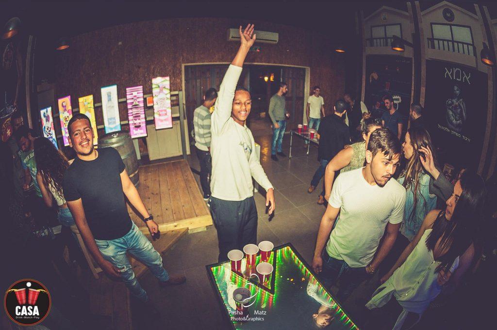 משחקי חברה עם אלכוהול ערב צוות