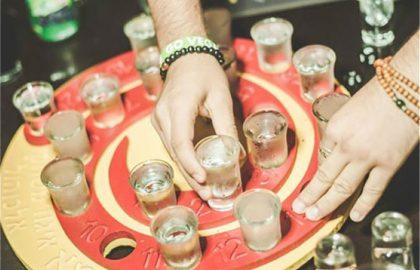 מבחר רחב של משחקי אלכוהול